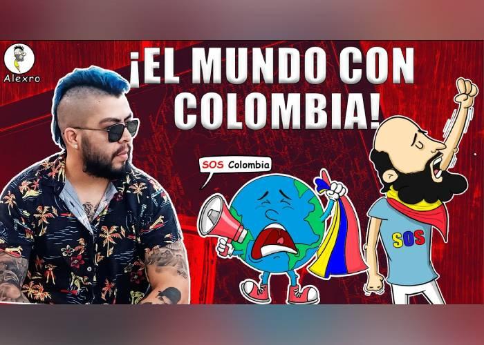 VIDEO: ¡El mundo con Colombia!