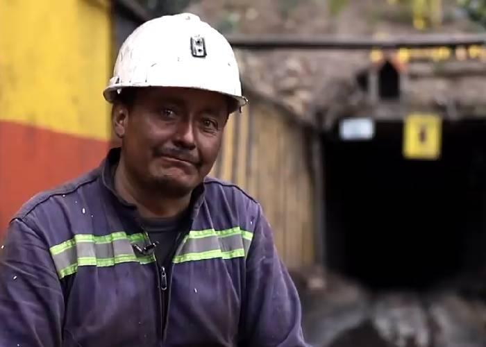 Mineros, al filo del peligro