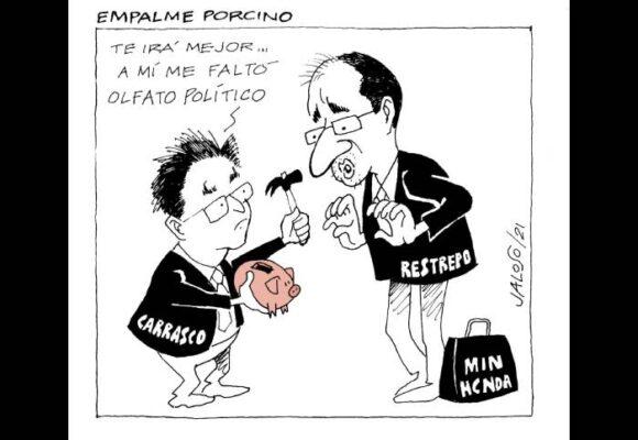 Caricatura: Empalme porcino