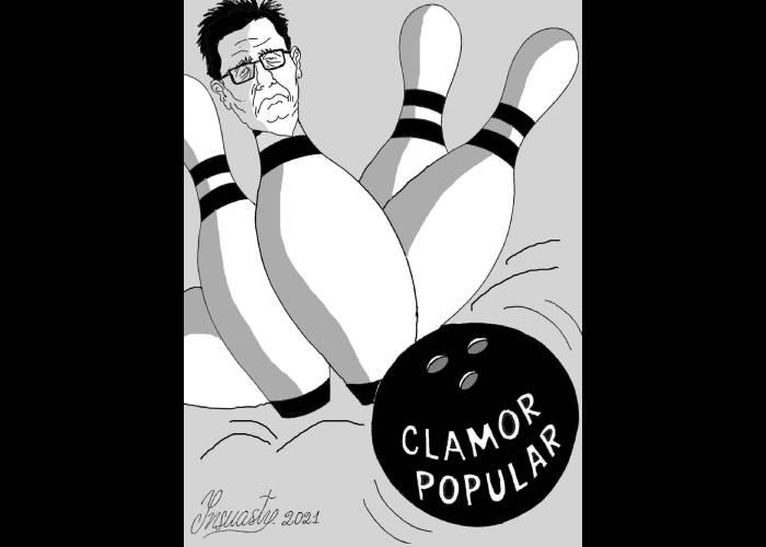 Caricatura: No va más