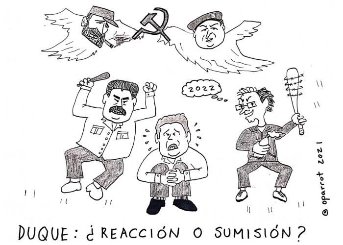 Caricatura: ¿Reacción o sumisión?