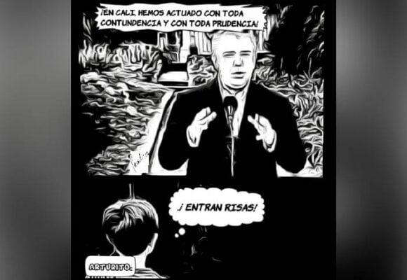 Caricatura: Cali, secuestrada