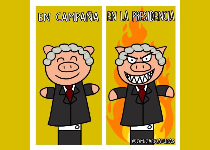 Caricatura: Duque versus Duque