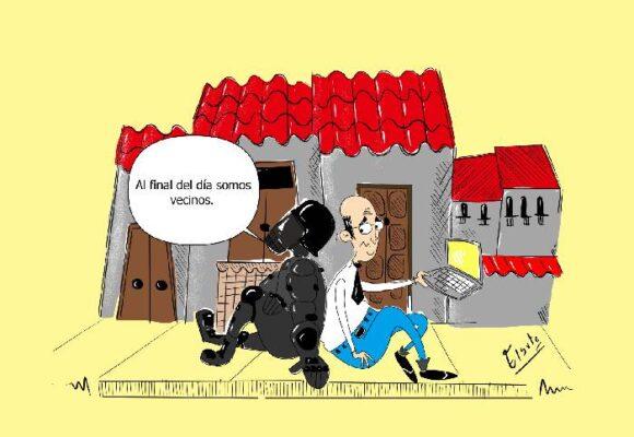 Caricatura: Dolor a sueldo