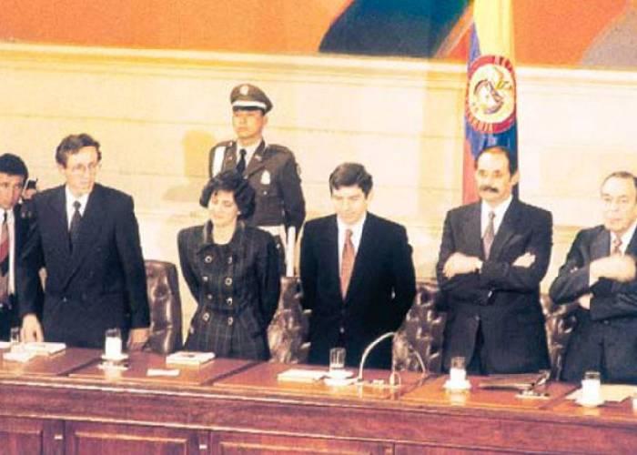 La constitución de Colombia es mamerta y resentida