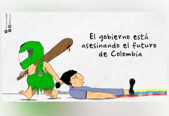 Caricatura: ¡Nos quieren matar a todos!