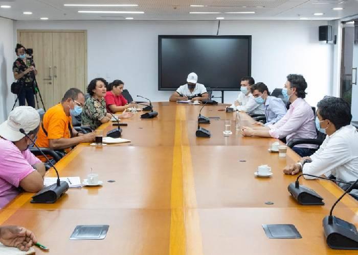 Daniel Quintero se sentó con Ríos Vivos y las víctimas de Hidroituango