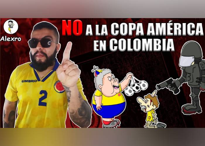 VIDEO: ¡No a la Copa América en Colombia!