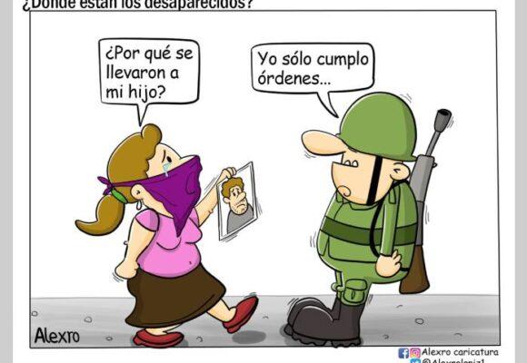 Caricatura: ¿Dónde están los desaparecidos?