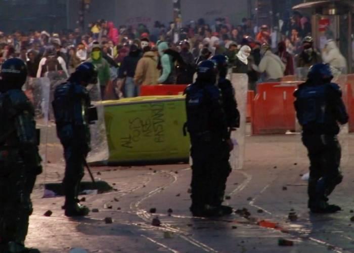 Contraloría investiga abuso de la fuerza pública contra manifestantes