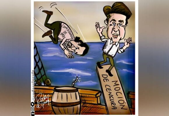 Caricatura: Fuera, Molano