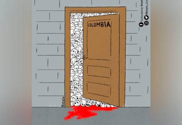 Caricatura: La verdadera cara de Colombia