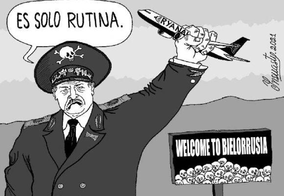Caricatura: Terrorismo de Estado