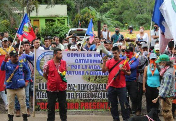 Campesinos del Catatumbo se movilizan en defensa de los derechos humanos
