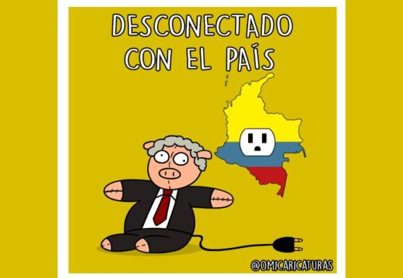 Caricatura: Desconectado con el país