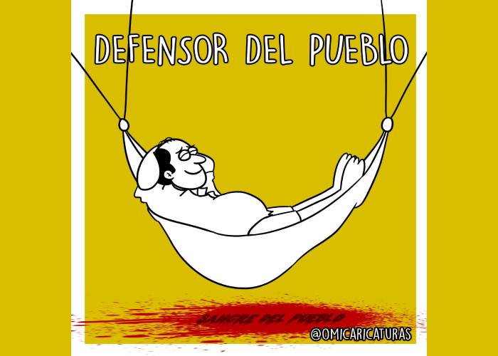 Caricatura: ¿Dónde está el defensor del Pueblo?
