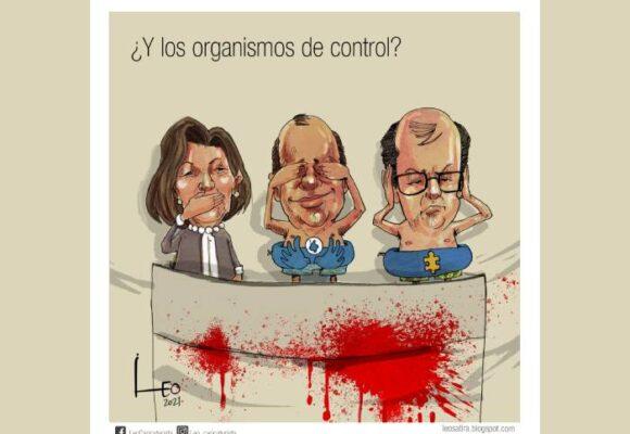 Caricatura: ¿Y los organismos de control?