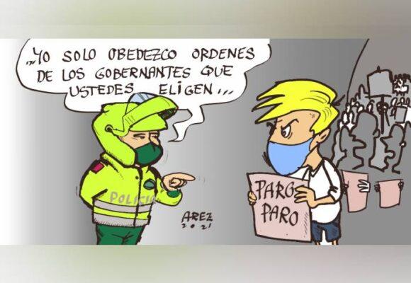 Caricatura: Pueblo versus pueblo