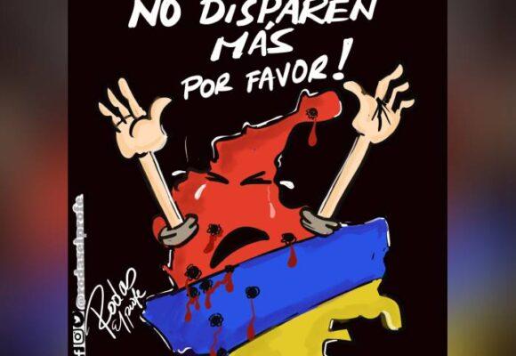 Caricatura: ¡Todos somos colombianos!