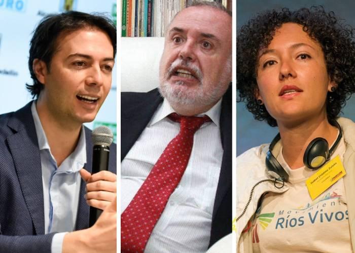Quintero, Tobón y Zuleta, los personajes que tienen en jaque a la clase política antioqueña