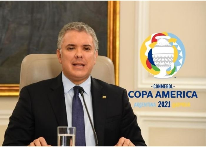 Pese a la crisis actual del país, Duque insiste con realizar la Copa América