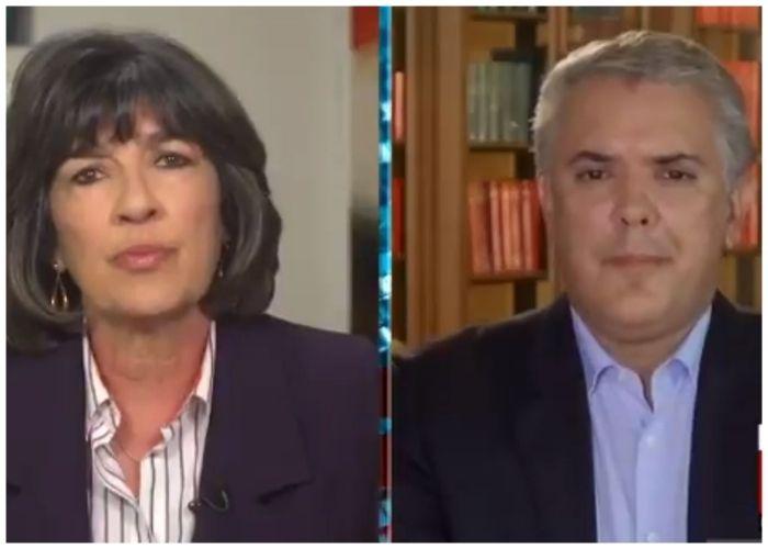 El duro cuestionamiento de CNN a Iván Duque