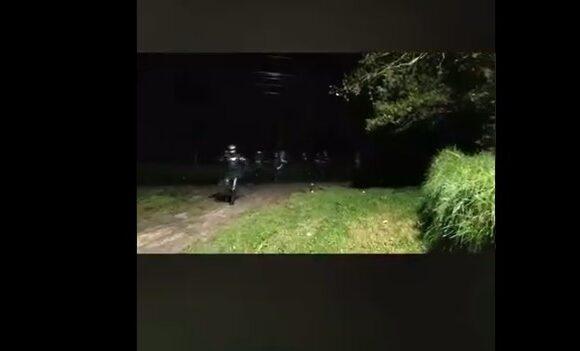 ESMAD dispara a periodista en Bogotá. VIDEO