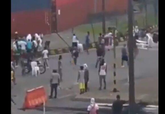 Saquean el puerto de Buenaventura. VIDEO