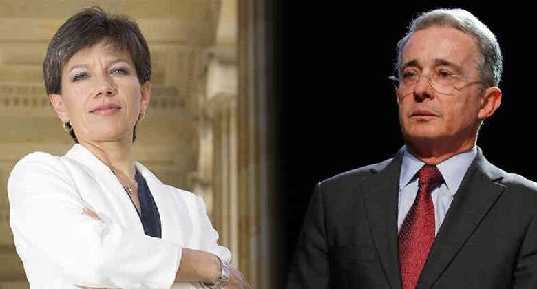 Críticas a Uribe por decir que Claudia López es
