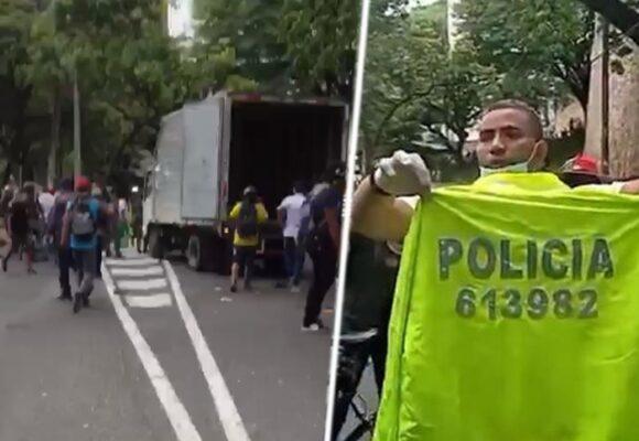 El extraño suceso que tiene a la policía caleña dando explicaciones