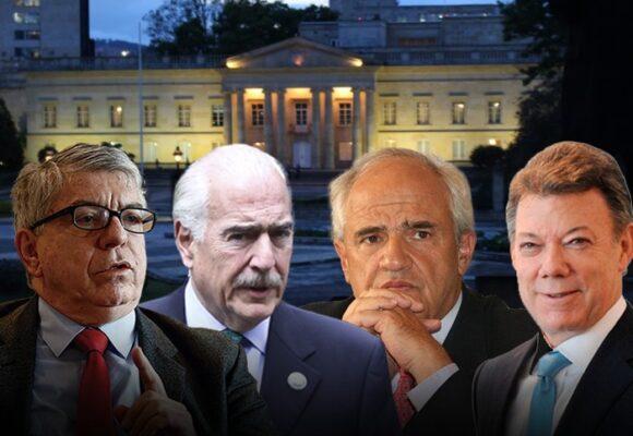 Los encargados de armar puentes con 4 expresidentes y Duque