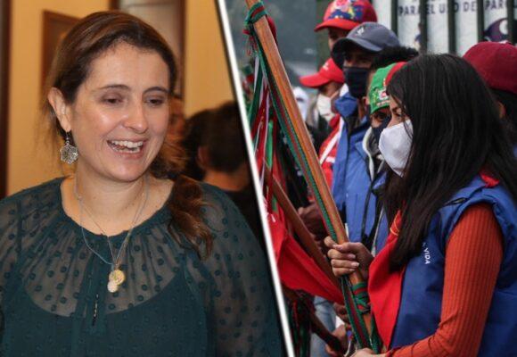 Paloma Valencia urge presencia de Duque en Cali