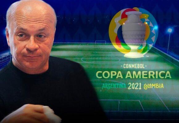 La tristeza de Carlos Antonio Vélez porque Colombia se quedó sin Copa América