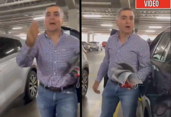 VIDEO: El caleño que le echó el carro por encima y golpeó a una mujer