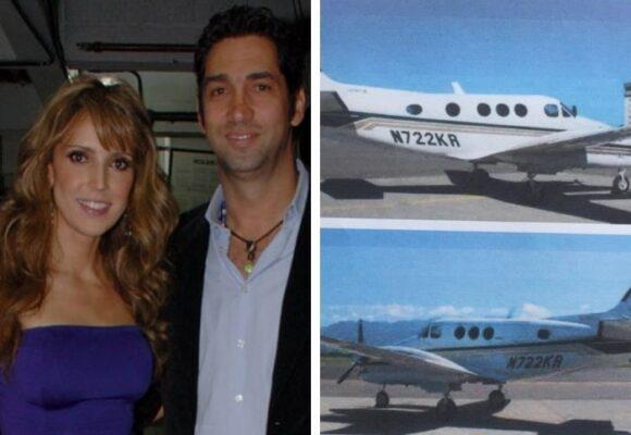 El mal momento de la Azcárate no para: comienza extinción de dominio a avioneta de su esposo