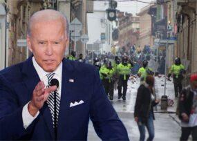 La Casa Blanca toma posición frente a las protestas en Colombia