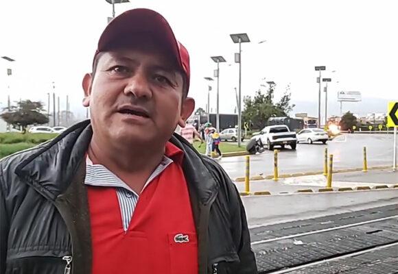 Los líderes del paro de transportadores en Cundinamarca le piden a Duque ser escuchados
