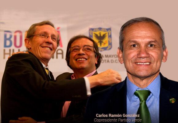 El Partido Verde tiene dueño: Carlos Ramón González