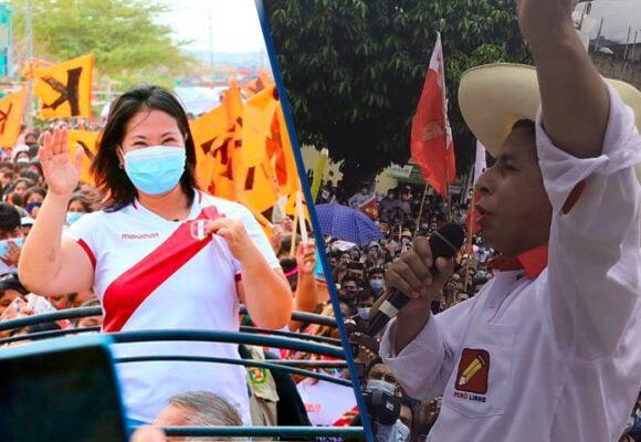 Perú: Castillo cae en las encuestas y se pronostica un empate con Keiko Fujimori en las presidenciales