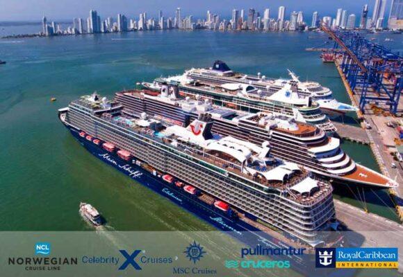 Cinco multinacionales de cruceros de lujo que dependen de las vacunas para volver a Colombia