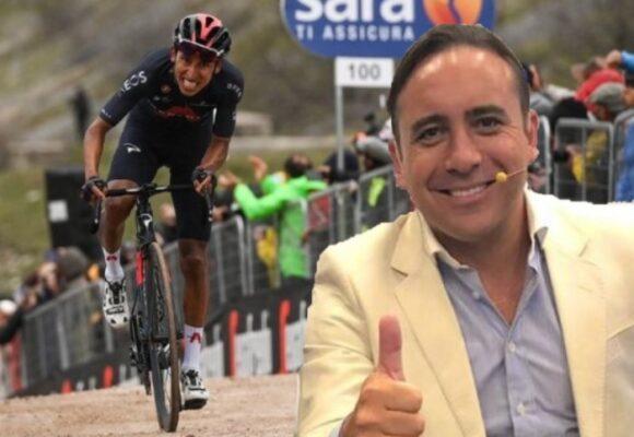 VIDEO | La emocionante narración de Mario Sábato en la victoria de Egan Bernal desde su estudio