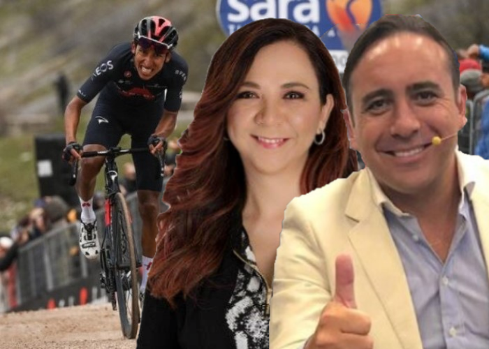 VIDEOS   Goga Vs. Mario Sábato: Dos voces que gritaron como colombianos la victoria de Egan Bernal