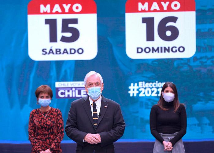 Chile acudirá a las urnas con la esperanza de construir nuevo pacto social