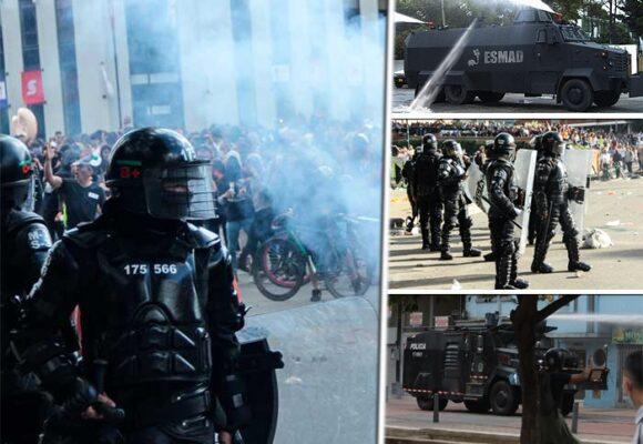 El arsenal del ESMAD con el que golpea a los manifestantes