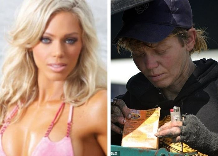 De modelo estrella en Hollywood a comer basura en las calles