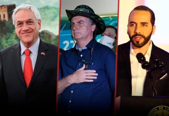 Los líderes mejor y peor valorados de Latinoamérica en el manejo de la nueva ola de covid