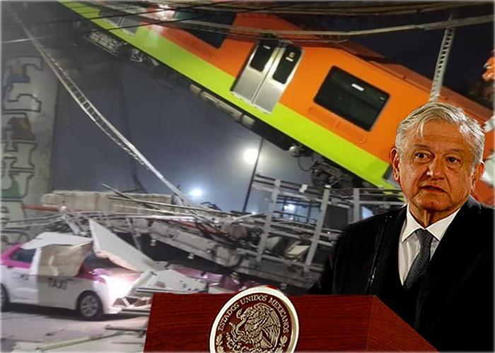 23 muertos y 79 heridos por desplome de metro en Ciudad de México