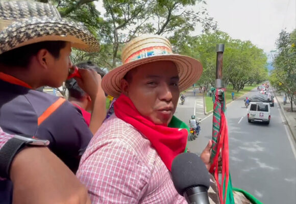La Minga indígena deja Cali rumbo al Cauca