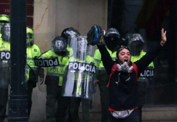 No a la militarización ni represión de la protesta social