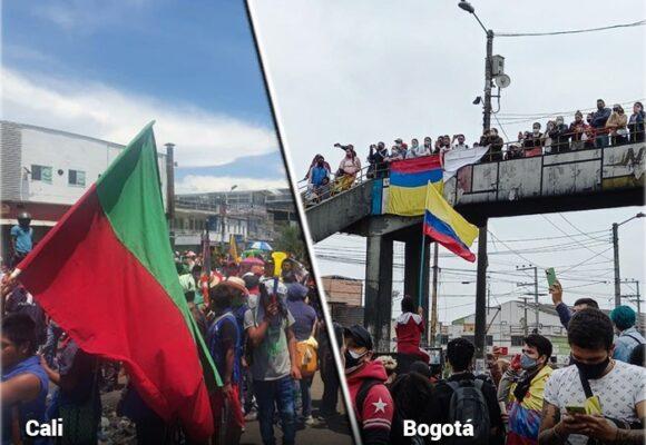Los colombianos insisten en marchar